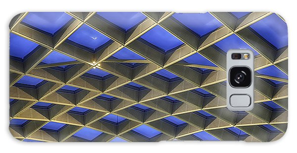 Curvilinear Skylight Structure  Galaxy Case by Lynn Palmer
