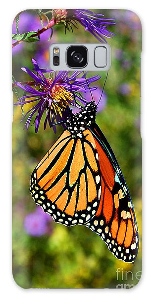 Custom Butterfly Waltz Galaxy Case