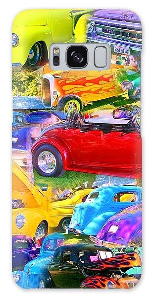 Custom Cars Collage Galaxy Case