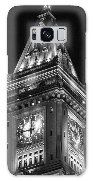 Custom House In Boston Black And White Galaxy Case