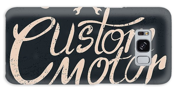 Motor Galaxy Case - Custom Motor Typographic For by Vextor Studio
