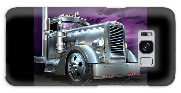 Custom Peterbilt Silver Ghost Galaxy Case