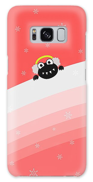 Cute Bug With Earflaps Galaxy Case