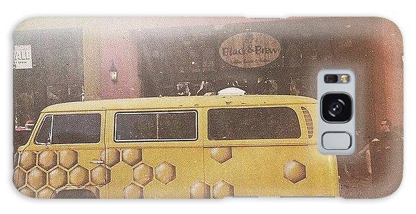 Vw Bus Galaxy Case - Honeycomb by Allie Wisniewski