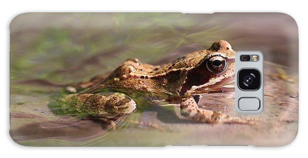 Cute Litte Creek Frog Galaxy Case