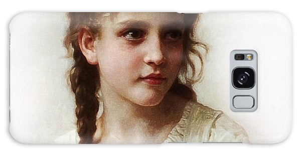 Cute Little Girl Galaxy Case by Bouguereau