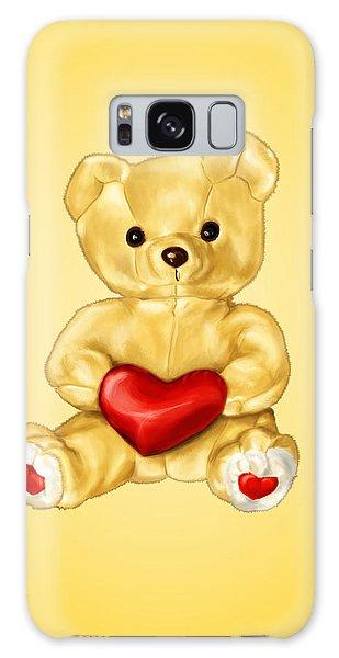 Cute Teddy Bear Hypnotist Galaxy Case