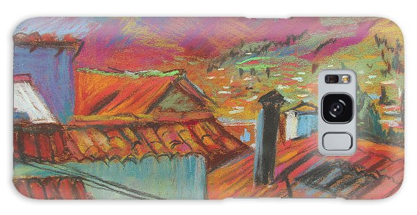 Cuzco Rooftops Galaxy Case