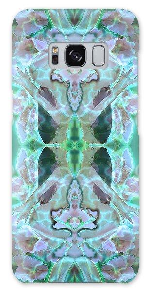 Cyan Fairy Kiss Of Enlightenment Galaxy Case