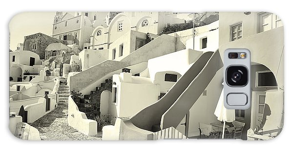 Cycladic Style Houses Galaxy Case by Aiolos Greek Collections