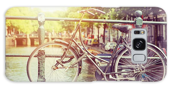 Bicycle Galaxy Case - Cycle In Sun by Jane Rix
