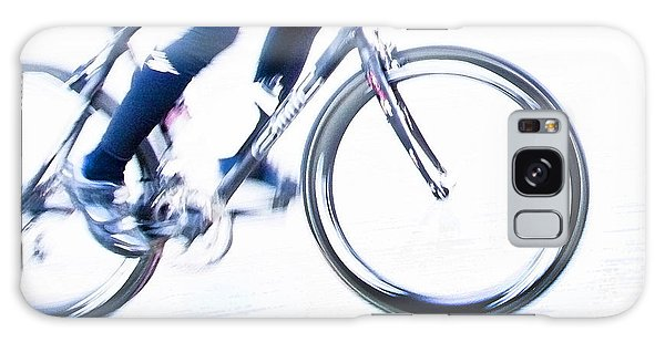 Cycling Galaxy Case by Theresa Tahara