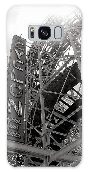 Cyclone Rollercoaster - Coney Island Galaxy Case by Jim Zahniser