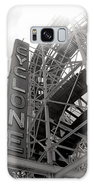 Seashore Galaxy Case - Cyclone Rollercoaster - Coney Island by Jim Zahniser