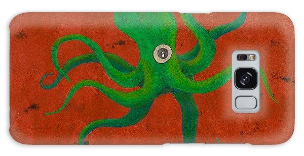 Cycloptopus Red Galaxy Case by Stefanie Forck