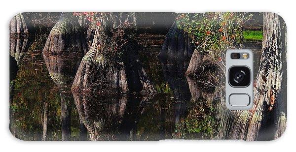 Cypress Reflections Galaxy Case by Laura Ragland