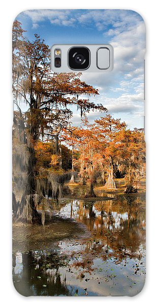 Cypress Rust Galaxy Case by Lana Trussell