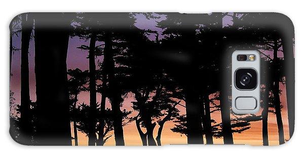 Cypress Sunset Galaxy Case
