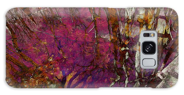 Cypress Swamp Abstract #2 Galaxy Case