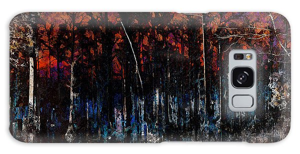 Cypress Swamp Abstract #1 Galaxy Case