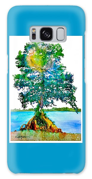 Da107 Cypress Tree Daniel Adams Galaxy Case