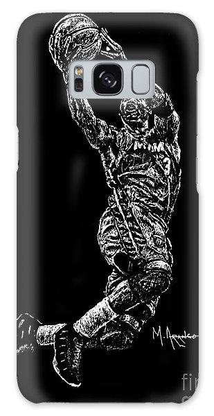 Sport Art Galaxy Case - D. Wade by Maria Arango
