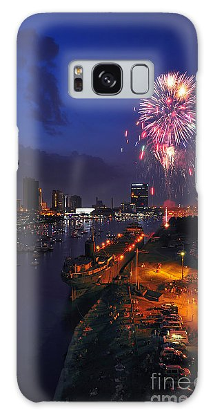 D12u470 Red White And Kaboom In Toledo Ohio Photo Galaxy Case
