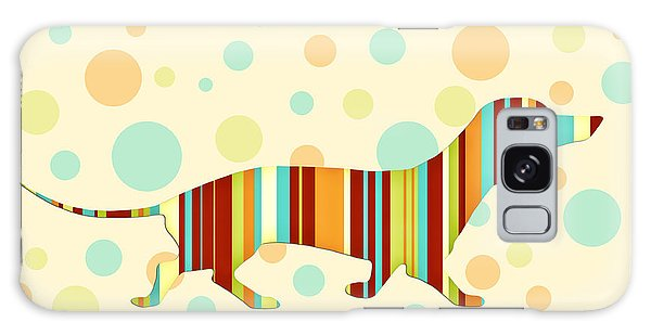 Dachshund Fun Colorful Abstract Galaxy Case by Natalie Kinnear