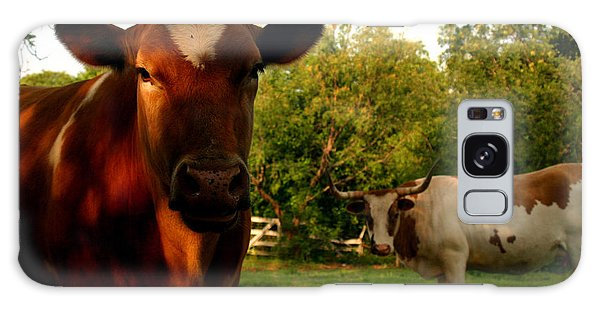 Dads Cows Galaxy Case by Lon Casler Bixby