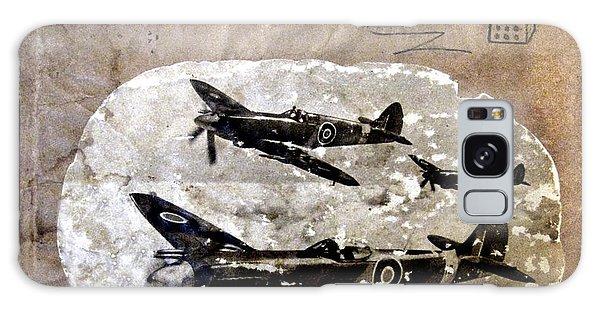 Dad's Flight Training Logbook Galaxy Case by Anne Mott
