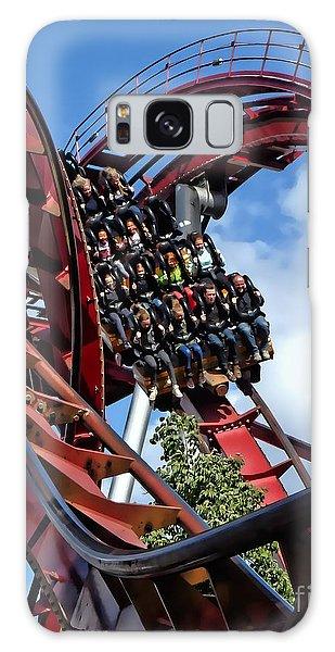 Daemonen - The Demon Rollercoaster - Tivoli Gardens - Copenhagen Galaxy Case