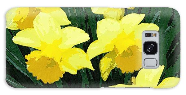 Daffodil Song Galaxy Case by Pamela Hyde Wilson