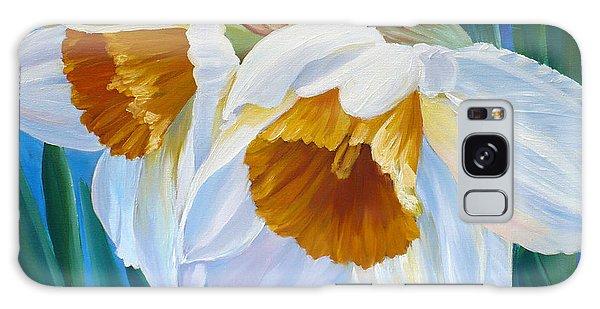 Daffodils Narcissus Galaxy Case