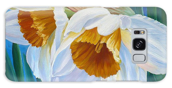 Daffodils Narcissus Galaxy Case