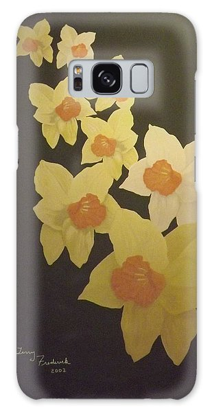 Daffodils Galaxy Case by Terry Frederick