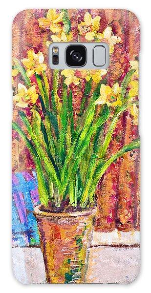 Daffodils Galaxy Case