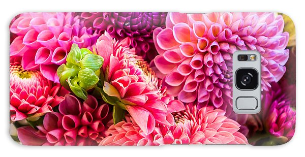 Dahlia Bouquet Number 2 Galaxy Case