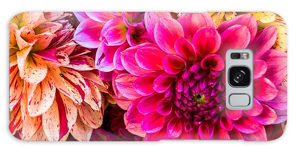 Dahlia Bouquet Number 3 Galaxy Case