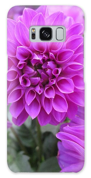 Dahlia In Pink Galaxy Case