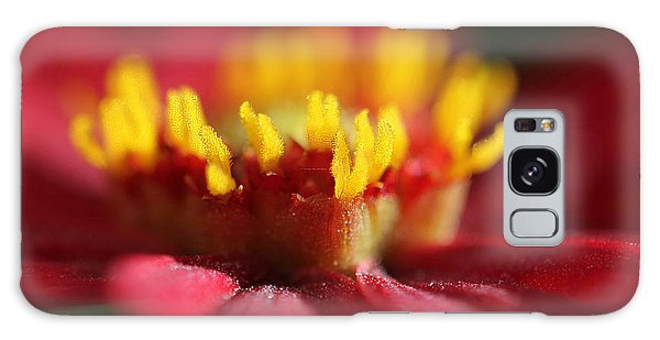 Dahlia Macro Red And Yellow Galaxy Case