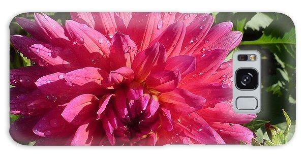 Dahlia Pink Galaxy Case by Susan Garren