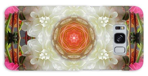 Dahlia Portal Mandala Galaxy Case