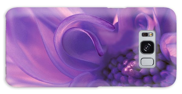 Dahlia Swirl Lavender Galaxy Case by Olivia Hardwicke