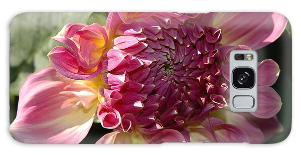 Dahlia V Galaxy Case by Christiane Hellner-OBrien