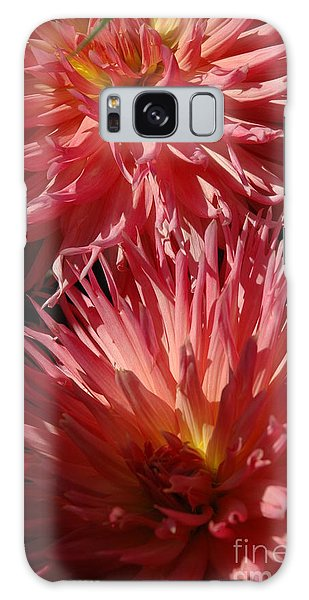 Dahlia Vi Galaxy Case by Christiane Hellner-OBrien
