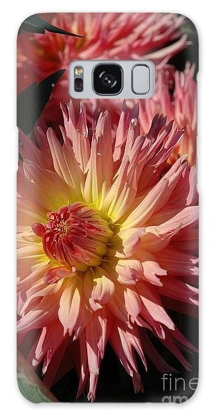 Dahlia Viii Galaxy Case by Christiane Hellner-OBrien