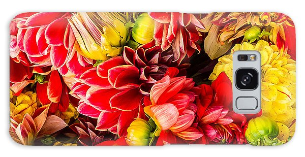 Dahlias Summer Color Galaxy Case