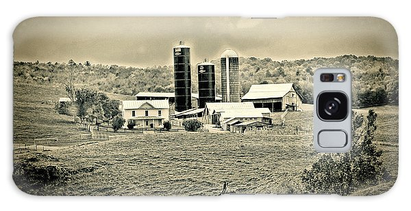 Dairy Farm Galaxy Case by Denise Romano