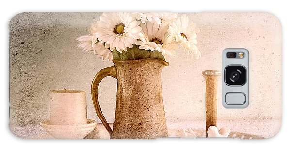 Vase Of Flowers Galaxy Case - Daisies by Betty LaRue