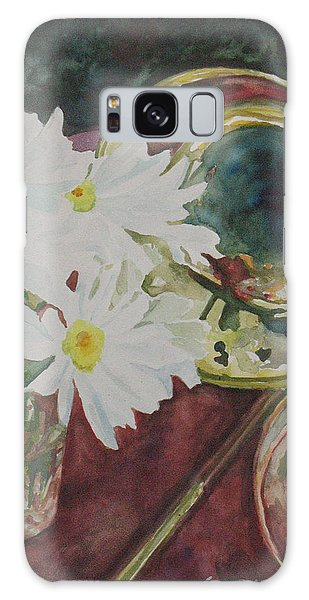 Trombone Galaxy S8 Case - Daisies Bold As Brass by Jenny Armitage